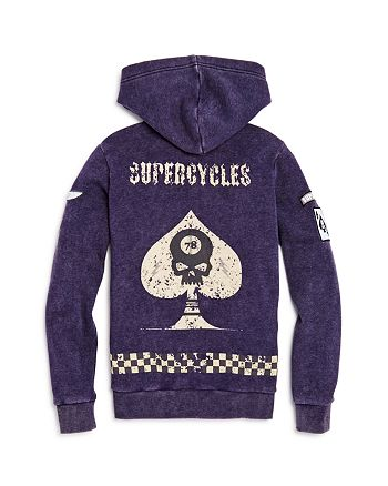 Butter - Boys' Supercycles Hoodie - Little Kid
