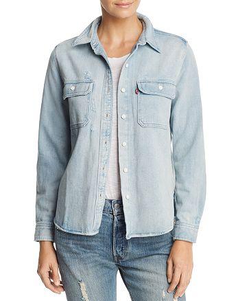 Levi's - Utility Boyfriend Denim Shirt