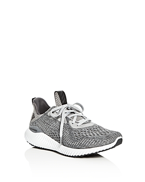 Adidas Unisex Alphabounce Engineered Mesh Lace Up Sneakers  Big Kid