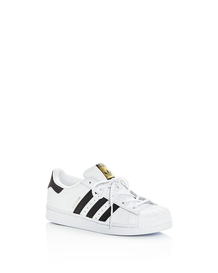 Adidas - Unisex Superstar Lace Up Sneakers - Toddler, Little Kid
