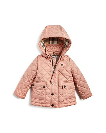 Burberry - Girls' Jamie Quilted Jacket - Baby
