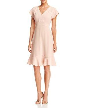 nanette Nanette Lepore Flutter Sleeve Dress