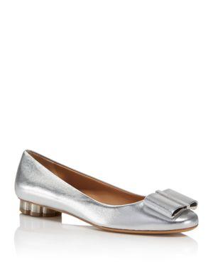 Salvatore Ferragamo Capua Bow Ballet Flats