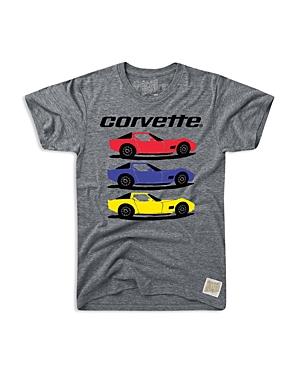 Retro Brand Boys Corvette Tee  Big Kid