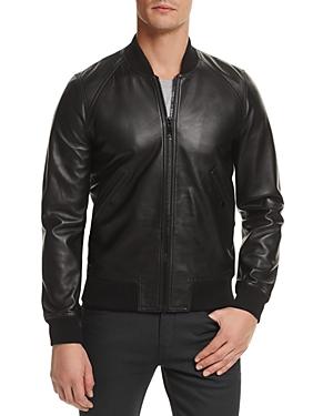 Sandro Fire Leather Jacket