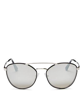 8a9ed59bef386 Prada - Women s Cinema Evolution Mirrored Square Sunglasses