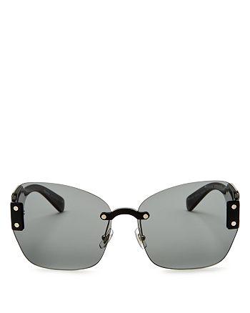 Miu Miu - Women's Sorbet Oversize Square Sunglasses, 65mm