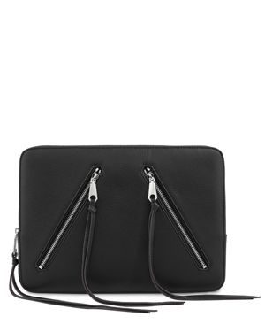 Rebecca Minkoff Moto Leather Laptop Sleeve
