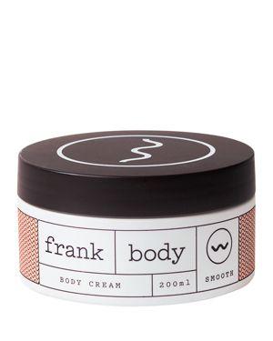FRANK BODY Body Cream in White