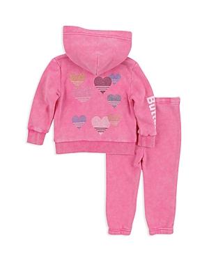 Butter Girls Sparkle Love Embellished Hoodie  Sweatpants Set  Little Kid