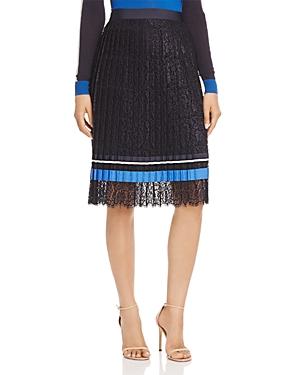 Boss Minka Pleated Lace Skirt