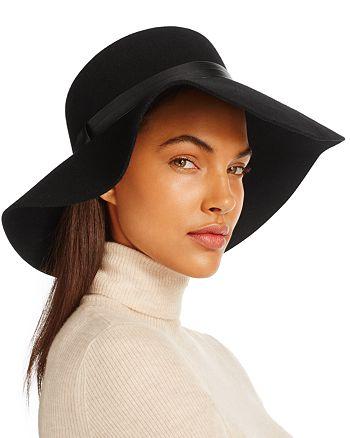 August Hat Company - Wide Brim Felt Hat - 100% Exclusive