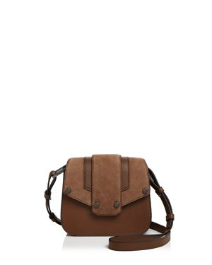 Mackage Poly Mini Nubuck and Leather Crossbody
