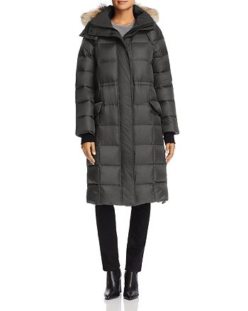 Canada Goose - Lunenberg Fur Trim Long Down Coat
