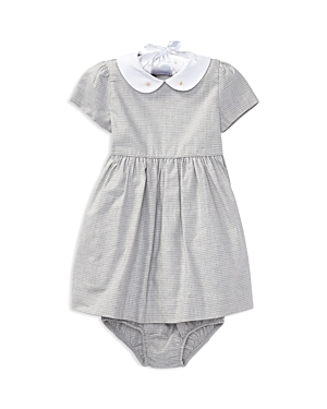 Ralph Lauren Childrenswear Girls Gingham Dress  Bloomers Set  Baby