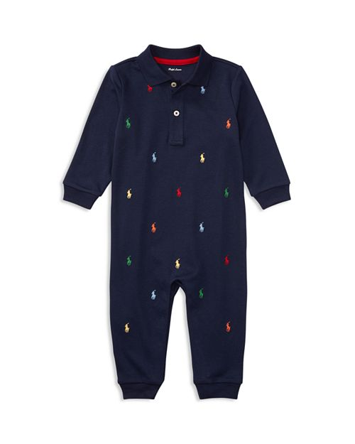 Ralph Lauren - Boys' Embroidered Coverall - Baby