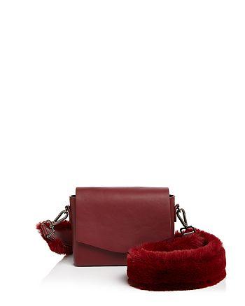 Street Level - Faux-Fur Strap Shoulder Bag - 100% Exclusive