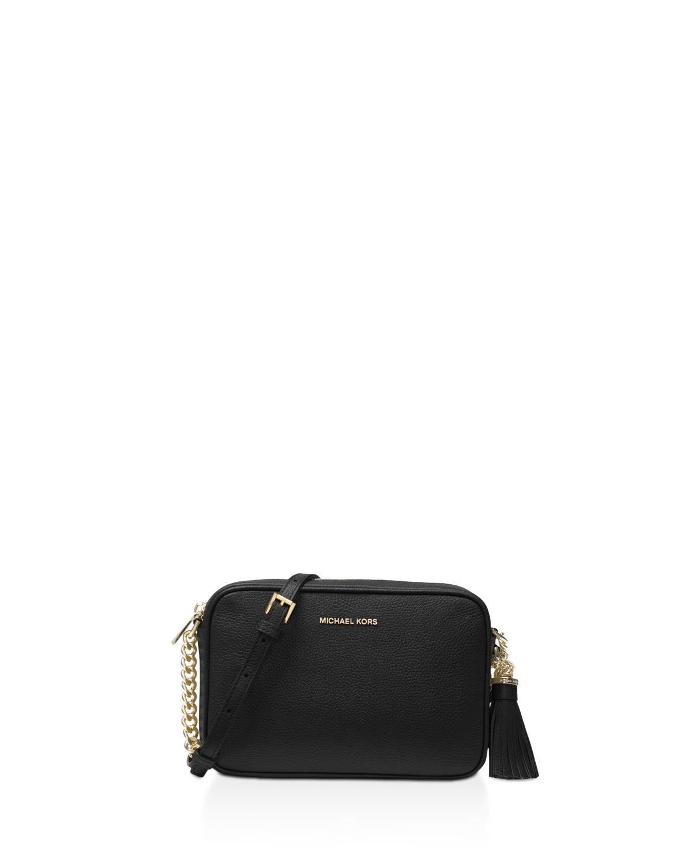 Michael Kors Ginny leather camera bag