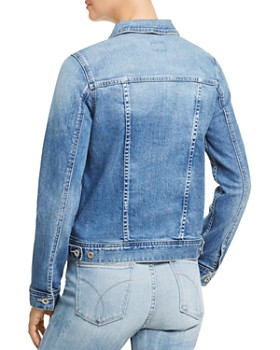 AG - Led Denim Jacket in 10 Years Magnetic Blue
