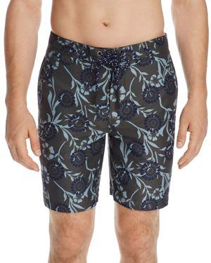 Surfside Supply Floral Batik Board Shorts