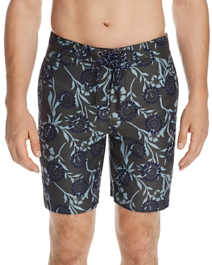 Surfside Supply Floral Batik Board Shorts