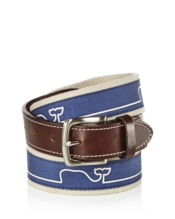 Vineyard Vines - Whaleline Match Canvas Belt