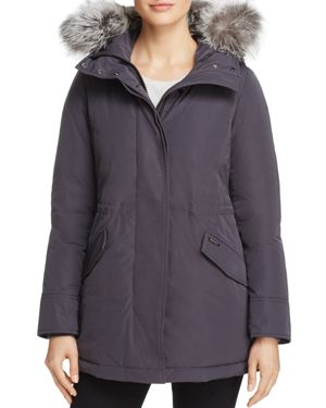 Woolrich John Rich & Bros City Arctic Fur Trim Down Parka