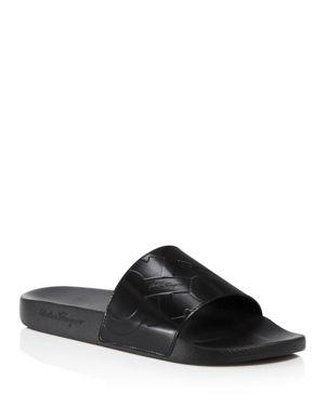 Salvatore Ferragamo Dash Slide Sandals 2460212