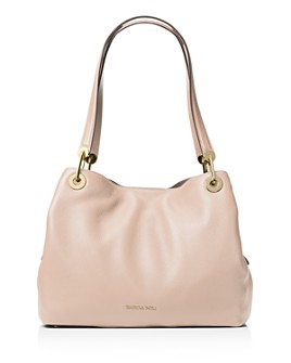 MICHAEL Michael Kors - Raven Large Pebbled Leather Shoulder Tote