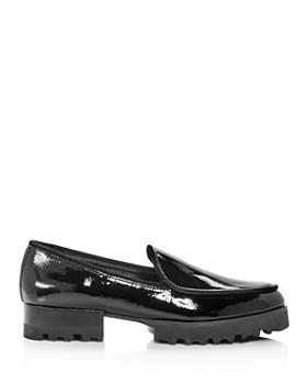 Donald Pliner - Women's Elen Patent Leather Platform Loafers