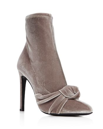 Giuseppe Zanotti - Women's Bimba Suede High-Heel Sock Booties