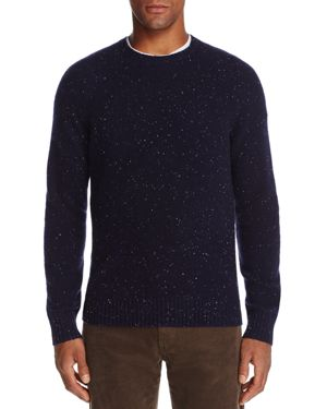 The Men's Store at Bloomingdale's Crewneck Donegal Cashmere Sweater - 100% Exclusive
