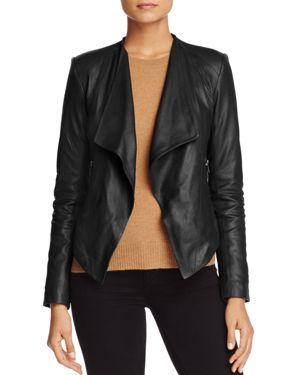 Bb Dakota Brycen Leather Jacket