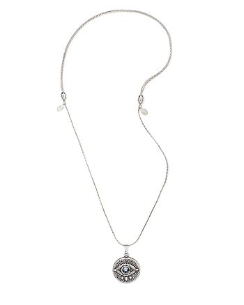 Alex and Ani - Evil Eye Expandable Necklace, 32""