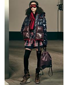 Moncler Cotinus Down Coat & Flared Skirt - Bloomingdale's_0