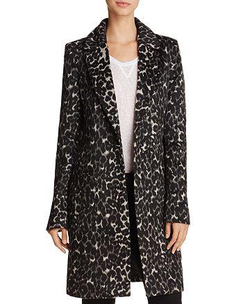 Bardot - Leopard Print Coat