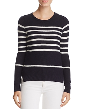 cupcakes and cashmere Pardee Stripe Sweater