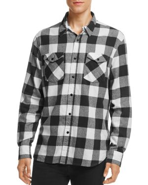 Jachs Ny Buffalo-Plaid Flannel Button-Down Classic Fit Shirt