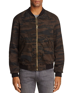 Blanknyc Camouflage Baseball Jacket