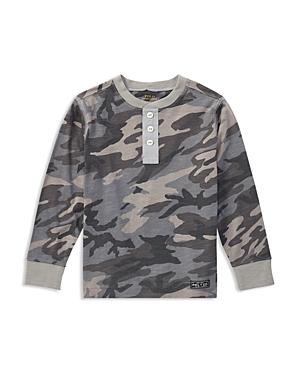 Ralph Lauren Childrenswear Boys Camouflage Henley  Little Kid
