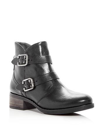 Paul Green - Women's Newbury Leather Low Heel Booties