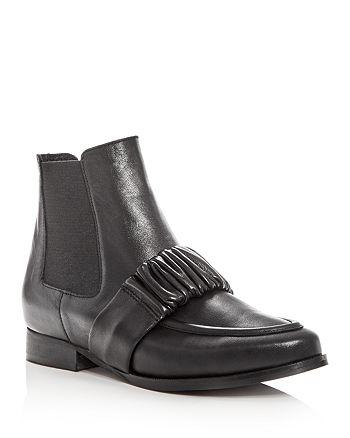 Daniella Lehavi - Women's Austin Leather Almond Toe Booties