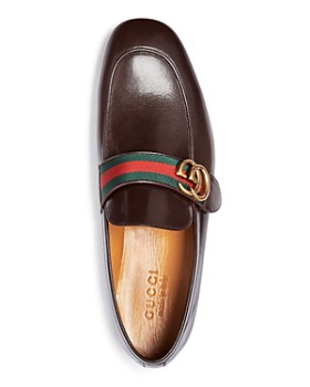 Gucci - Men's Donnie Leather Loafers