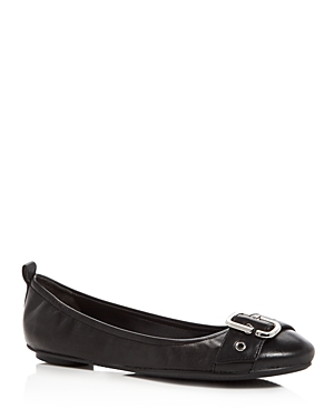 Marc Jacobs Women's Dolly Leather Ballet Flats