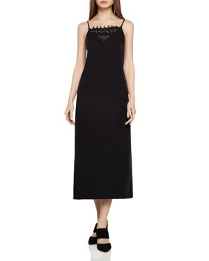 BCBGeneration Lace-Inset Cami Dress
