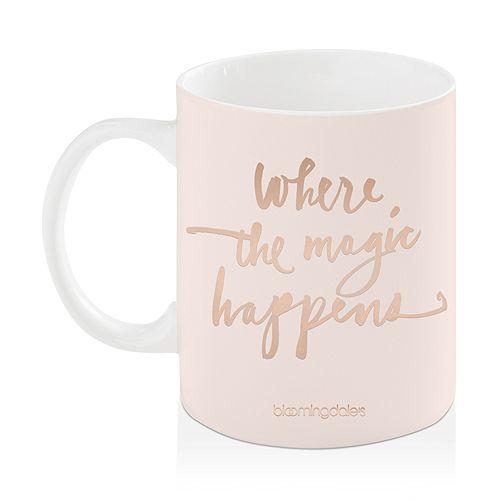 Bloomingdale's - Magic Happens Mug - 100% Exclusive