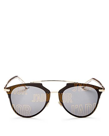 Dior - Women's Reflected Prism Mirrored Sunglasses, 63mm