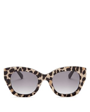 kate spade new york Jalena Square Sunglasses, 49mm