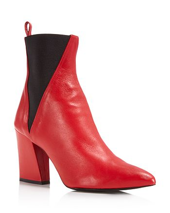 Aska - Women's Troy Contrast Booties