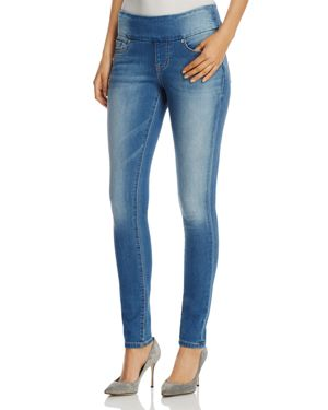Jag Jeans Nora Pull-On Skinny Jeans in Light Indigo